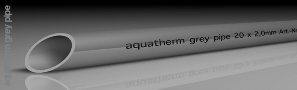 Aquatherm grey pipe PВ